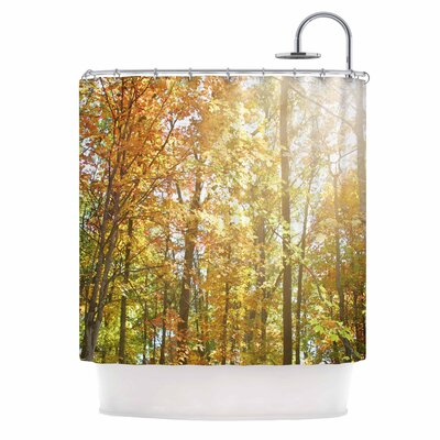 Autumn Trees II Shower Curtain