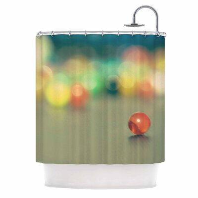 Marble Bokeh Shower Curtain