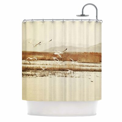 Nautical Flight Shower Curtain