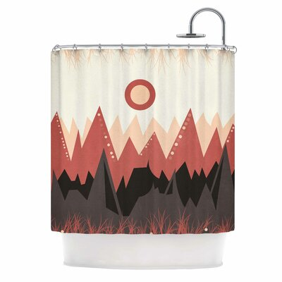 Landscape A. Shower Curtain