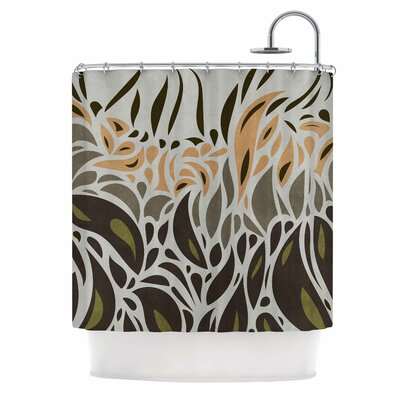 Abstract Pattern II Shower Curtain