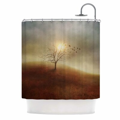 Lone Tree Love I Shower Curtain