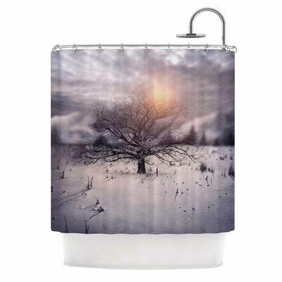 Lone Tree Love II Shower Curtain