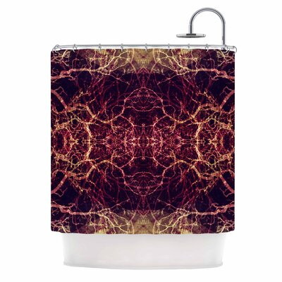 Burning Roots I+VIII Shower Curtain