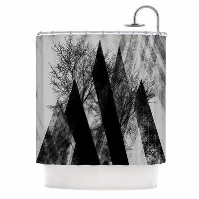 Trees V2 Shower Curtain