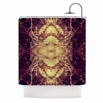 Burning Roots IV Shower Curtain