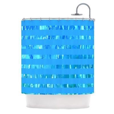 Wet Wild Stripes Shower Curtain