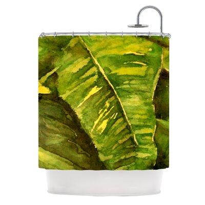 Tropical Garden Shower Curtain