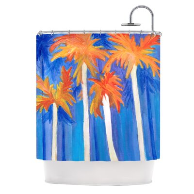 Florida Autumn Shower Curtain