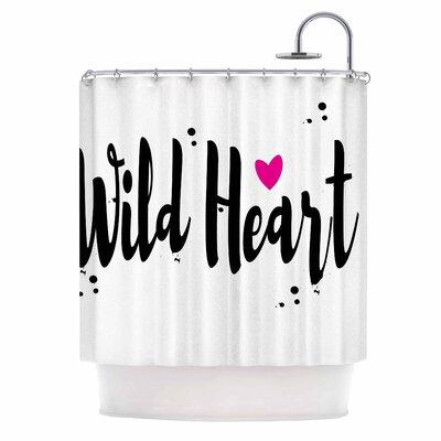 Wild Heart II Shower Curtain