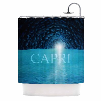 The Grotto of Capri Shower Curtain