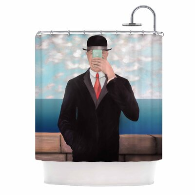 The Son of Apple Shower Curtain