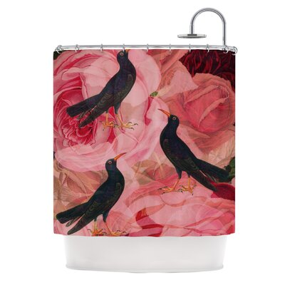 Song Bird Cush Shower Curtain