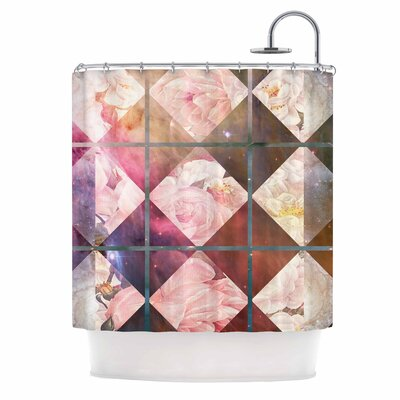 Floral Universe Shower Curtain