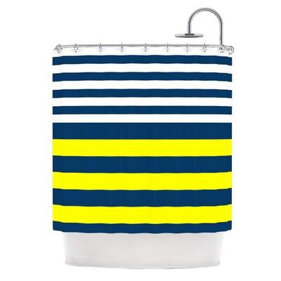 Nauticki Shower Curtain