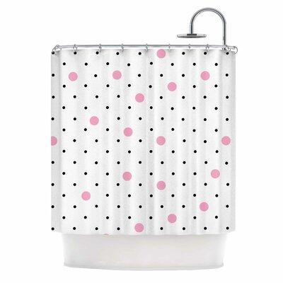 Pin Points Polka Dot Shower Curtain