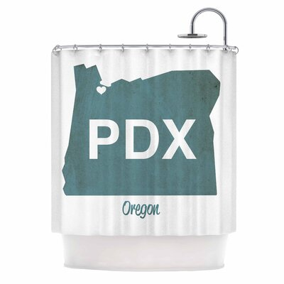 PDX Shower Curtain