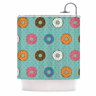 Doughnut Brigade Shower Curtain