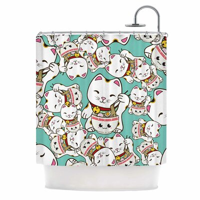 Ramen Cats Shower Curtain