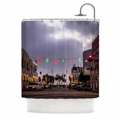 Venice Christmas Shower Curtain