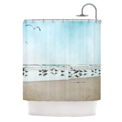 Sea Blue Shower Curtain