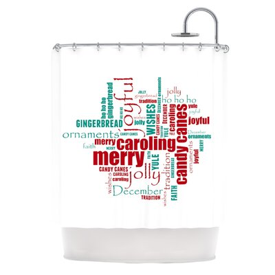 Yuletide Shower Curtain