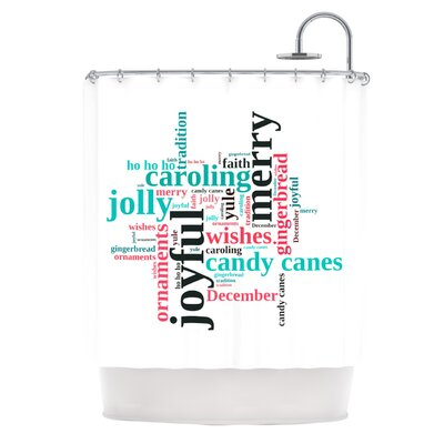 Holiday Traditions Shower Curtain