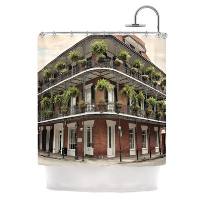 New Orleans Street Corner Shower Curtain