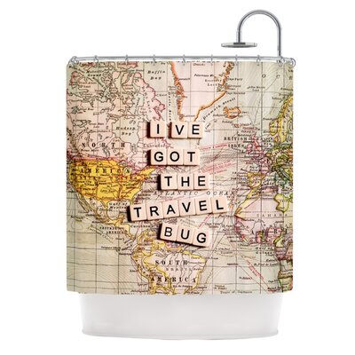Travel Bug Shower Curtain
