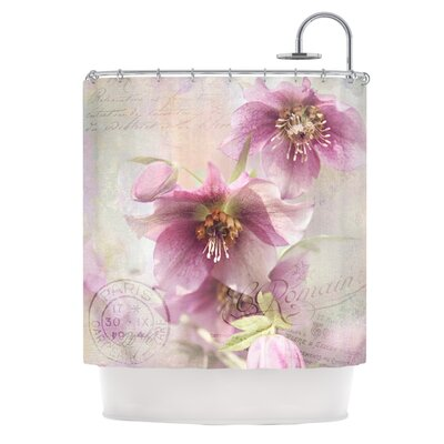 Hellabore Shower Curtain