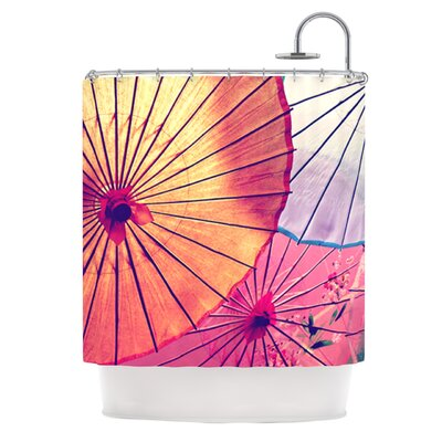 Colorful Umbrellas Shower Curtain