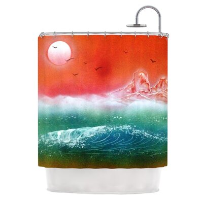 Dream Seascape Shower Curtain