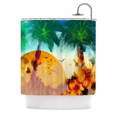 Paradise Patterns Shower Curtain