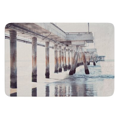 The Pier by Nastasia Cook Bath Rug