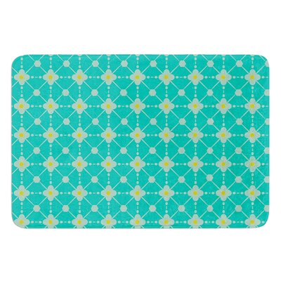 Hive Blooms by Nicole Ketchum Bath Mat