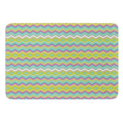 Chevron Love by Nicole Ketchum Bath Mat