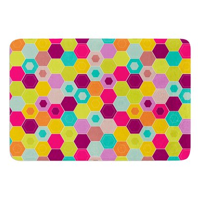Arabian Bee by Nicole Ketchum Bath Mat