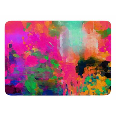 Montesilvano Abstract by Oriana Cordero Bath Mat
