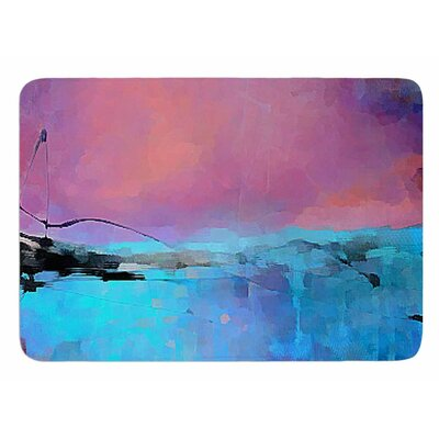 Versailles-Abstract by Oriana Cordero Bath Mat