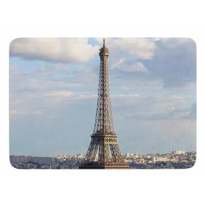 Eiffel Tower by Philip Brown Bath Mat
