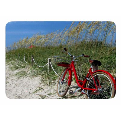 A Day At The Beach by Philip Brown Bath Mat