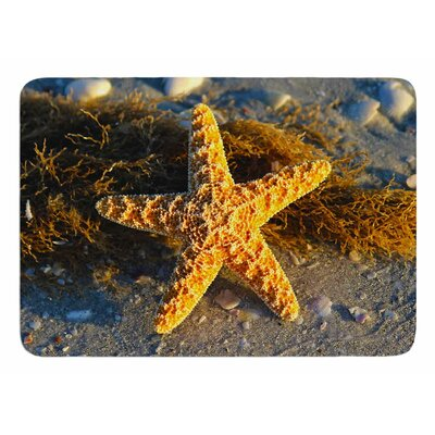 Starfish by Philip Brown Bath Mat