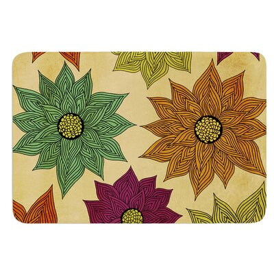 Color Me Floral by Pom Graphic Design Bath Mat