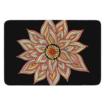 Incandescent Flower by Pom Graphic Design Bath Mat