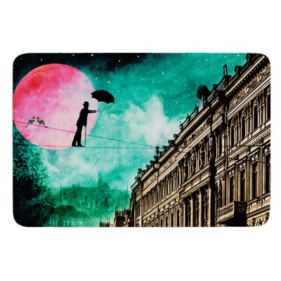 Moonlight Stroll by Suzanne Carter Bath Mat