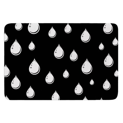 Raindrops by Suzanne Carter Bath Mat