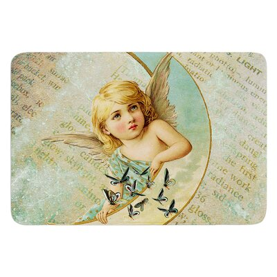 Angel by Suzanne Carter Bath Mat
