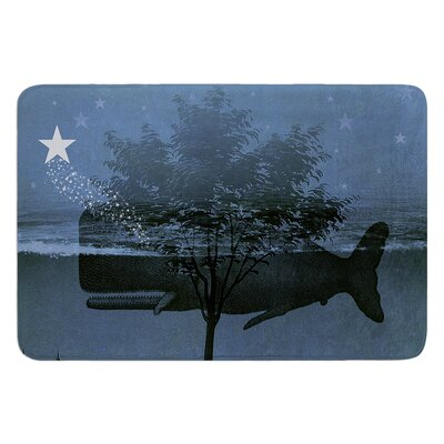 Whale Watch by Suzanne Carter Bath Mat