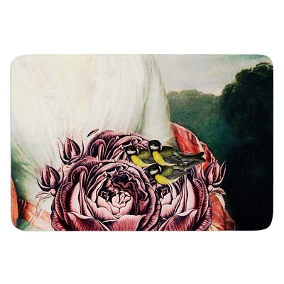The Bouquet by Suzanne Carter Bath Mat