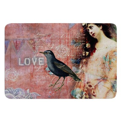 Faith Hope Love by Suzanne Carter Bath Mat
